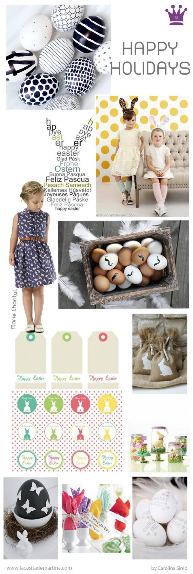 Pascua, La casita de Martina,    Blog de Moda Infantil,   Carolina Simó
