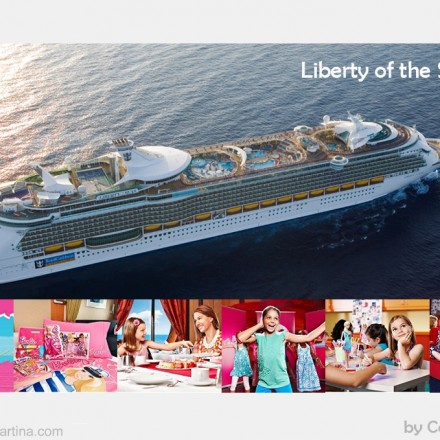 Liberty of the Seas , Cruceros para nios, Royal Caribbean Family Party, La casita de Martina, Blog de Moda Infantil, Carolina Simo