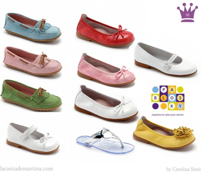 Pablosky, Tienda online calzado infantil, La casita de Martina, Zapatos para niña, Blog  de Moda Infantil, Carolina Simó