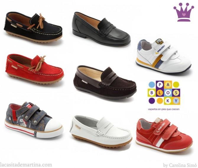 moda infantil zapatos