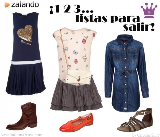 Ropa  para niñas, Zalando, zapatillas niños, La casita de Martina, Blog de Moda Infantil, Carolina Simó
