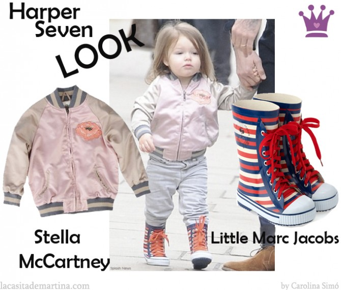 Stella McCartney, Harper Seven Beckam, La casita de Martina, Blog de Moda infantil, Kids trends, Carolina Simo