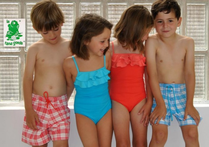 La Rana Gorda, Villalobos bañadores, Blog de Moda Infantil, Bañadores para niños, La casita de Martina, Carolina Simó