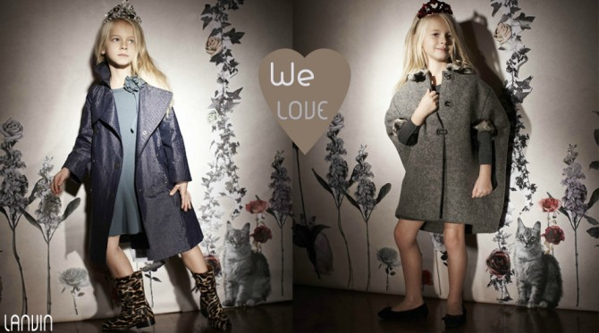 Lanvin niñas, La casita de Martina, Blog de Moda Infantil, Carolina Simó