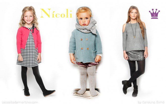 Nícoli Moda Infantil Invierno 2013,kids-collection, La casita de Martina, Blog de Moda Infantil, Carolina Simó