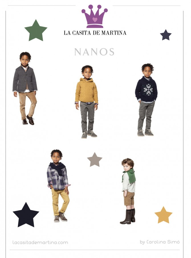 Nanos colección Otoño Invierno 2013 2014, La casita de Martina, Blog Moda Infantil,  Carolina Simó