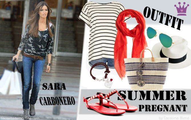 Sara Carbonero, Moda Premamá,Ropa Premamá,La casita de Martina, Blogmoda Premamá