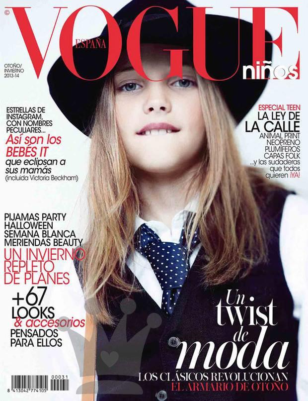 Vogue Niños, Vogue niños invierno 2013, La casita de Martina, Blog de Moda Infantil, Carolina Simó
