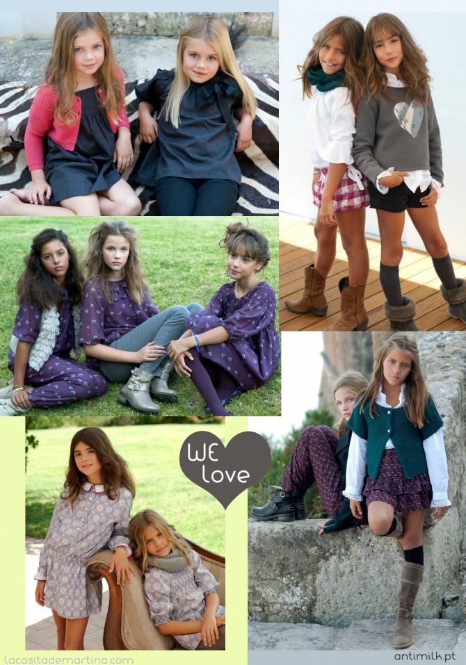 Antimilk, Coleccion Moda Infantil invierno 2013 2014,La casita de Martina, Blog de Moda infantil