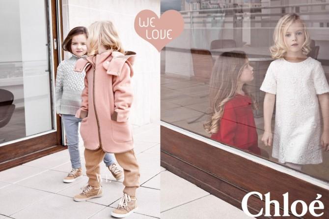 Chloe KIDS, Coleccion Moda Infantil invierno 2013 2014,La casita de Martina, Blog de Moda infantil