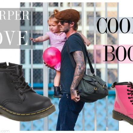 Dr. Martens, Harper Seven, David Beckham, Blog Moda Infantil