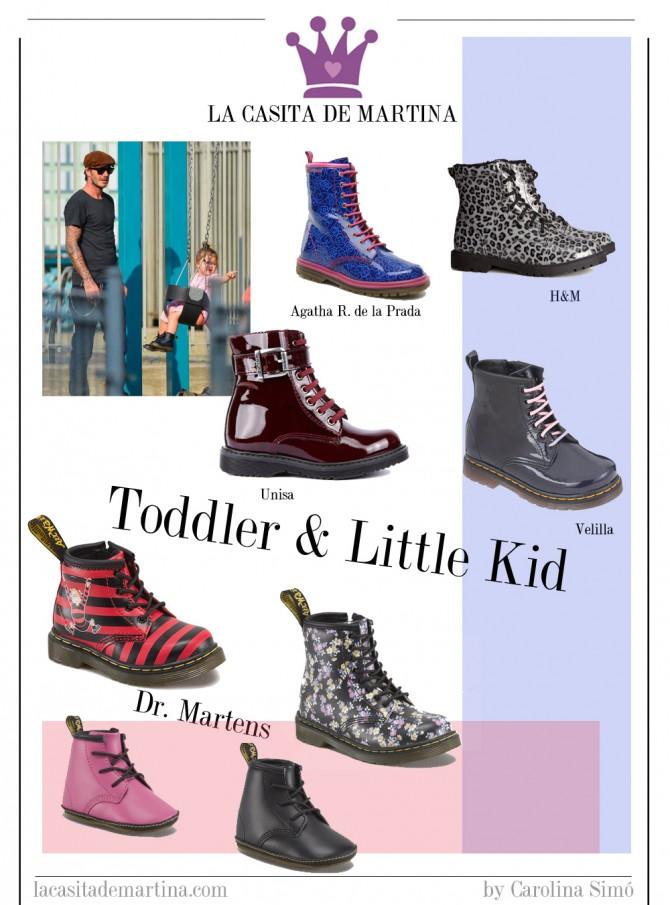 Dr. Martens, Harper Seven, David Beckham, Blog Moda Infantil., La casita de Martina
