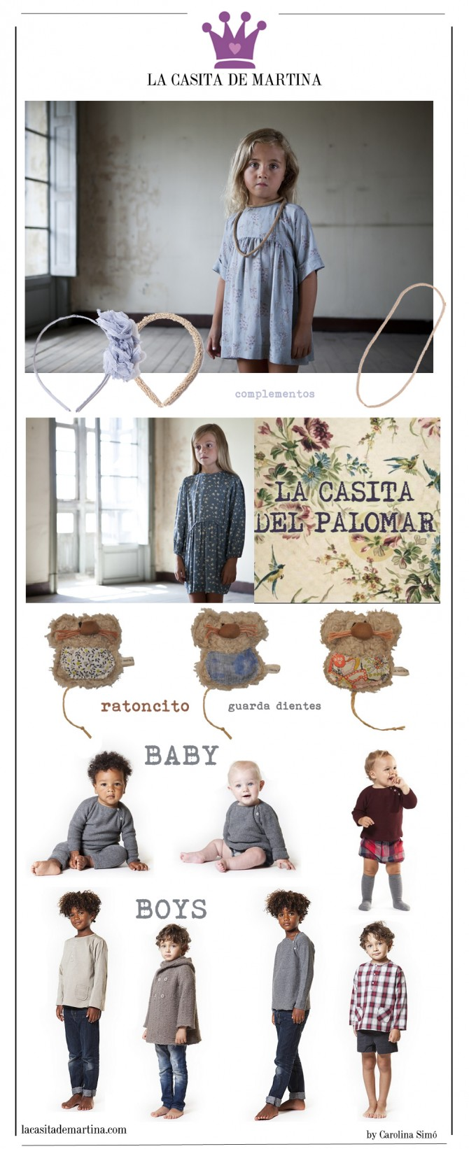 La casita del Palomar, Blog Moda Infantil, La casita de Martina, Tendencias Moda Infantil, Fashion Kids