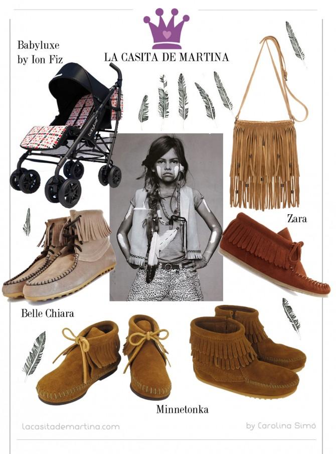MINNETONKA, La casita de Martina, Paula Echevarria, Blog Moda Infantil, Belle Chiara