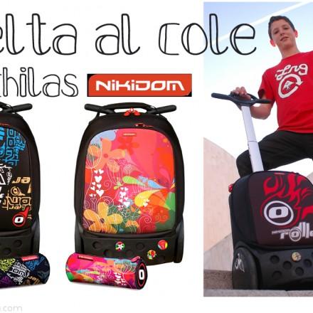 Mochilas para niños, Mochilas Vuelta al cole, Blog Moda Infantil, La casita de Martina, Carolina Simó, Nikidom