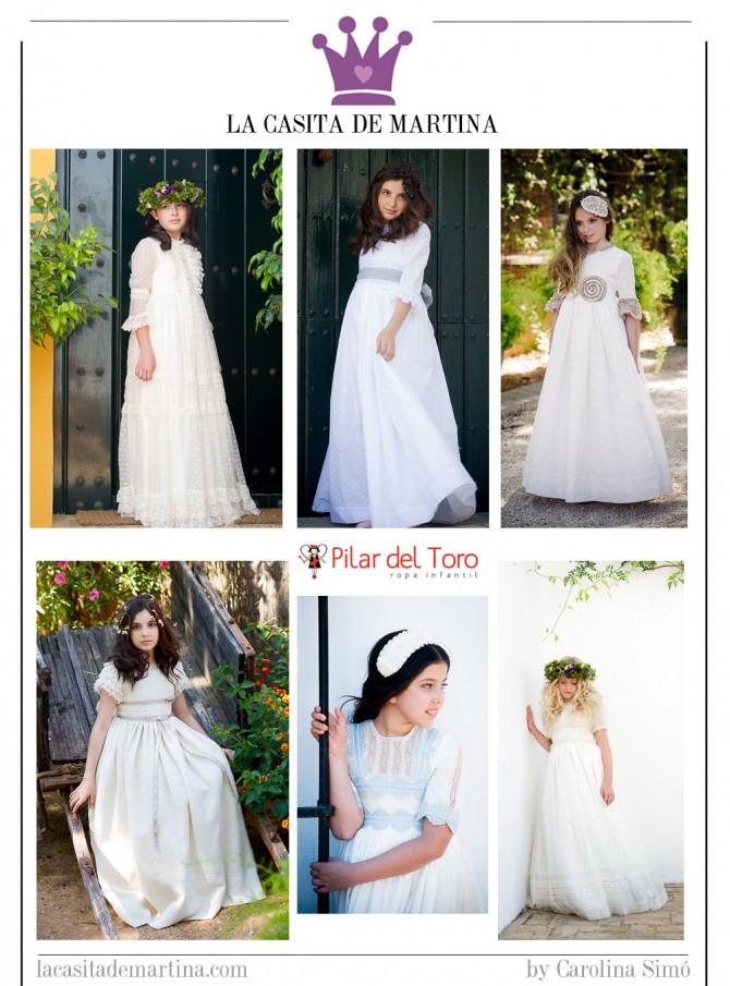 Pilar del Toro, Vestidos de Comunión, Trajes de Comunión 2014, La casita de Martina, Blog Moda Infantil
