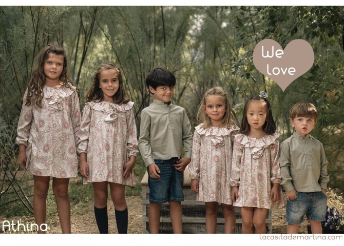 Athina, Coleccion Moda Infantil invierno 2013 2014,La casita de Martina, Blog Moda infantil