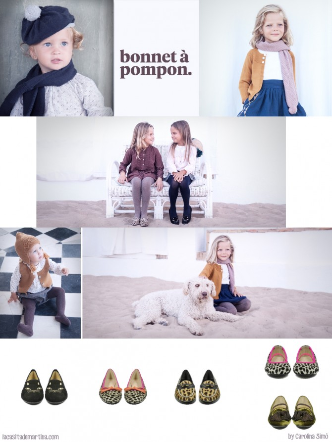 Bonnet a pompon, Sorteo, Blog Moda Infantil, Carolina Simó, La casita de Martina
