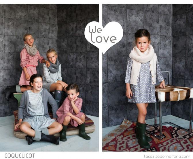 Coquelicot Moda Infantil, Coleccion Moda Infantil invierno 2013 2014,La casita de Martina, Blog Moda infantil