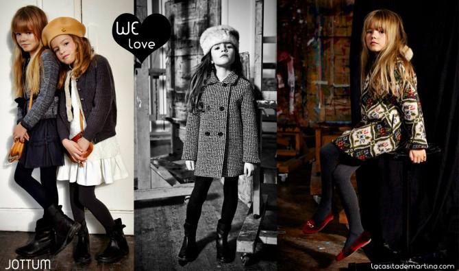 JOTTUM, Coleccion Moda Infantil invierno 2013 2014,La casita de Martina, Blog de Moda infantil
