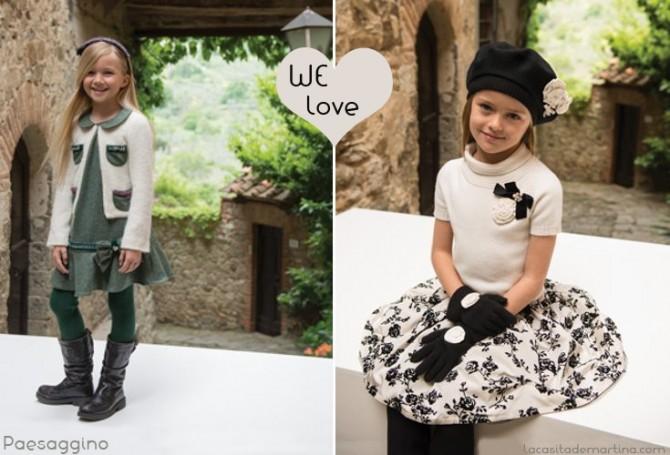 Paesaggino, Coleccion Moda Infantil invierno 2013 2014,La casita de Martina, Blog de Moda infantil