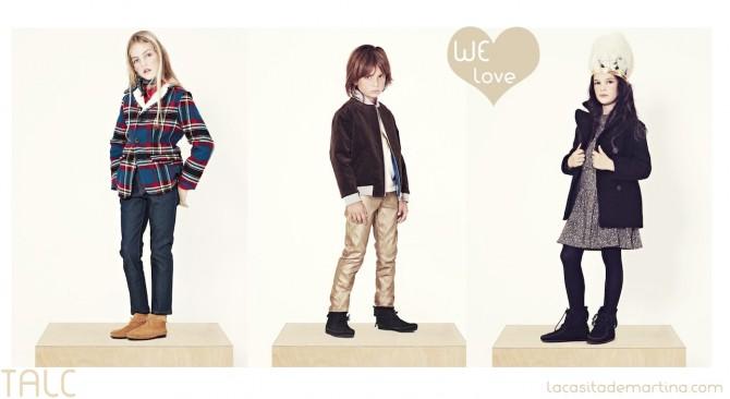 Talc Fashion Kids, Coleccion Moda Infantil invierno 2013 2014,La casita de Martina, Blog Moda infantil