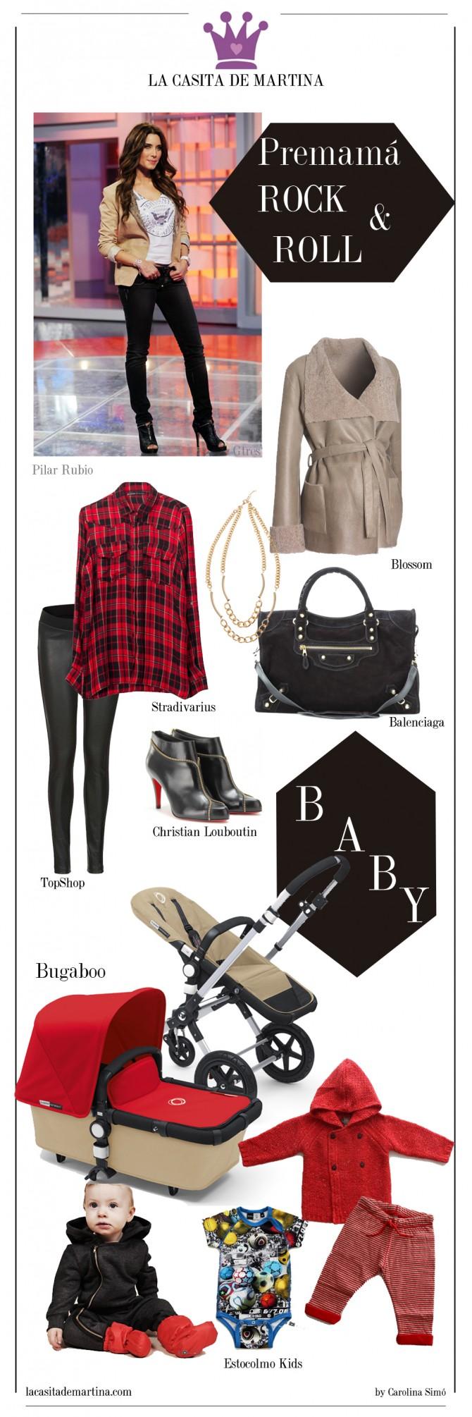Pilar Rubio, Moda premamá, Blog Moda Premamá, Blog Moda Infantil, La casita de Martina