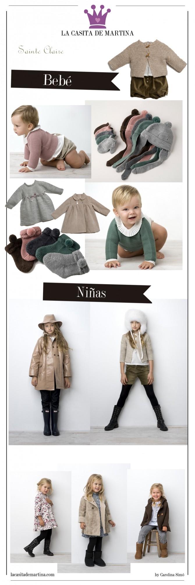 Sainte claire colecci n moda infantil oto o invierno 2013 for La casita de martina