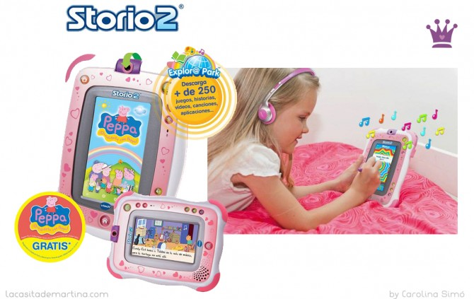 Storio2, Tablet niños, Premios Telva, La casita de Martina, Blog Moda Infantil