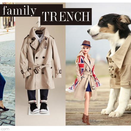 Trench, Burberry, Barbie Burberry, La casita de Martina, Blog Moda Infantil
