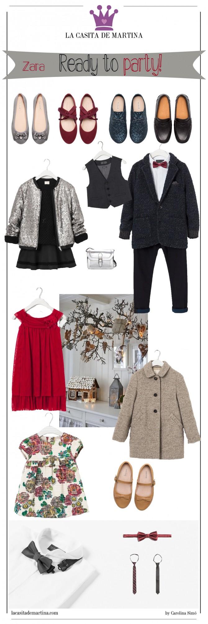 Zara niños, Ropa vestir niños Navidad, Blog Moda Infantil, Pajaritas niños, La casita de Martina