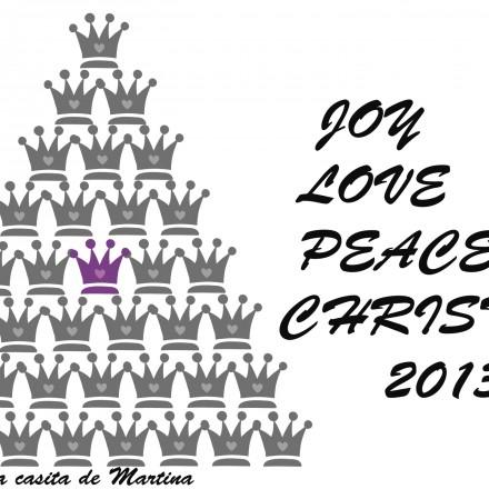 Felicitación Navidad, La casita de Martina, Blog Moda Infantil