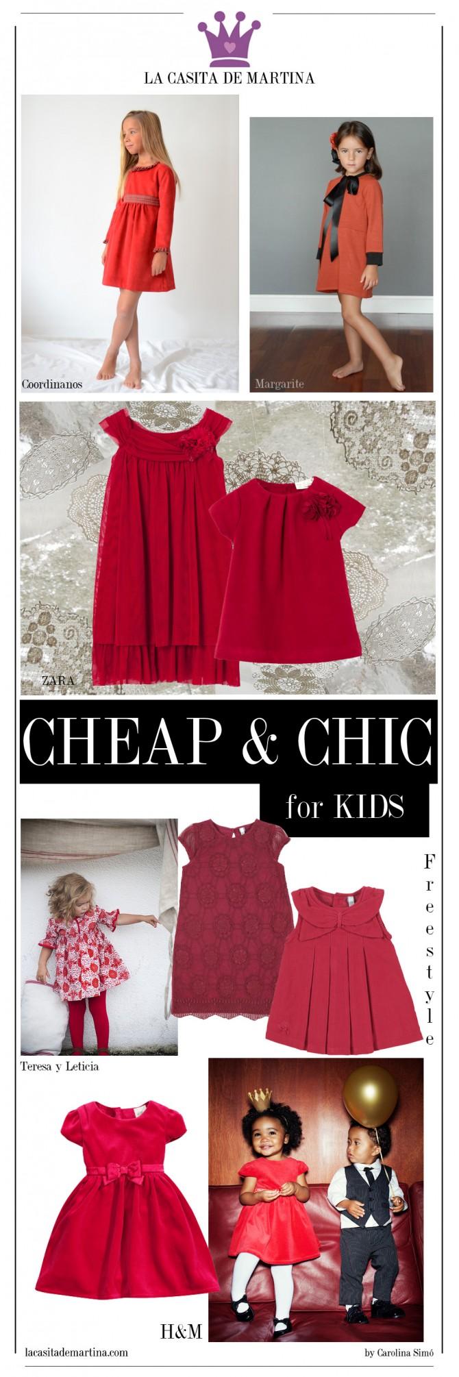 Vestidos Navidad Niños, Zara Niños, Blog Moda Infantil, La casita de Martina