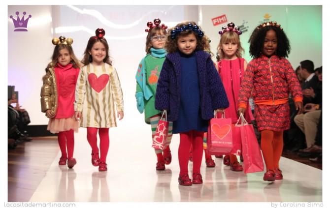 Agatha Ruiz de la Prada, Fimi Fashion Show, La casita de Martina, Blog Moda Infantil
