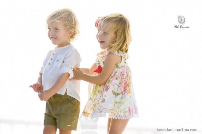 Colección Primavera Verano PILI CARRERA, Moda Infantil, Blog Moda Infantil, La casita de Martina