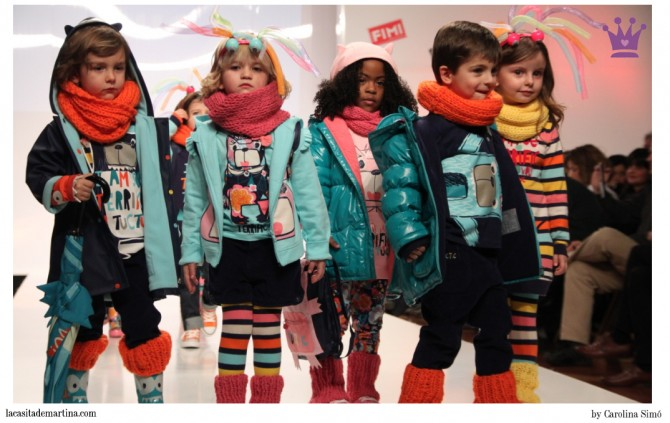 TUC TUC moda infantil, Fimi, Fimi Fashion Show, La casita de Martina, Blog Moda Infantil
