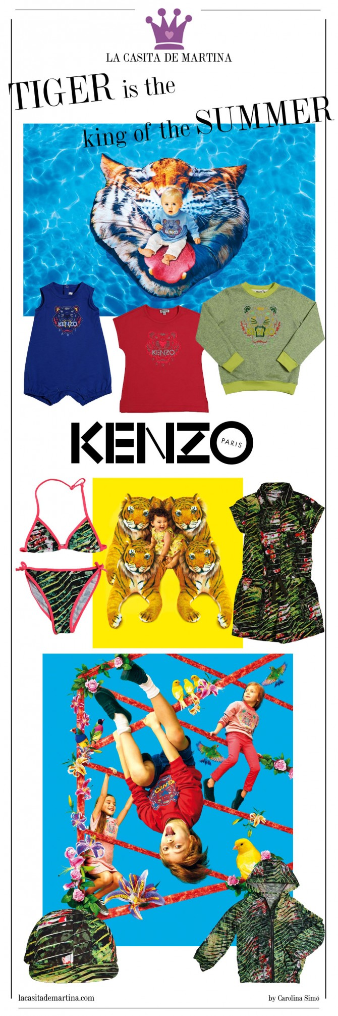 Kenzo Kids, Moda Infantil, Blog Moda Infantil,  La casita de Martina, Fashion Kids