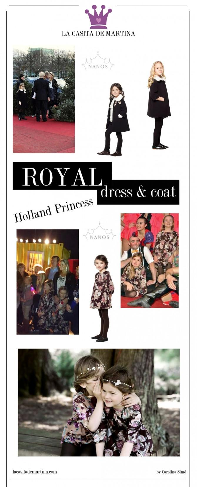 Máxima Holanda, Vestidos princesas, Nanos, Blog de Moda Infantil, La casita de Martina