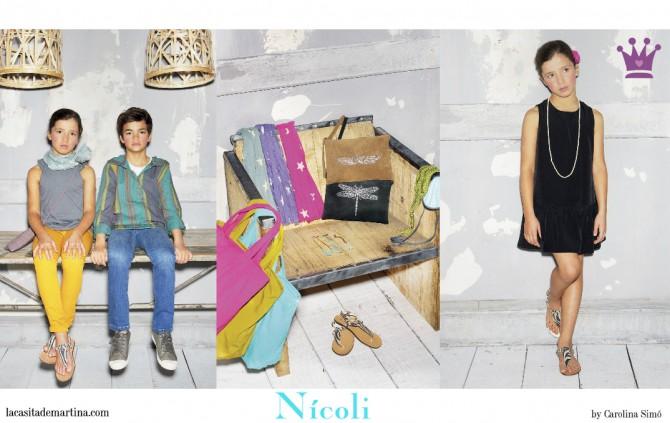 Nícoli, Colección Primavera Verano Moda Infantil,   La casita de Martina, Blog Moda Infantil