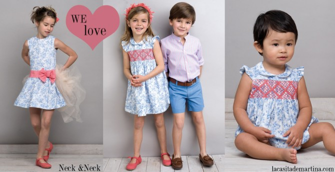 Neck & Neck, La casita de Martina, Blog de Moda Infantil, Colección Moda Infantil Verano