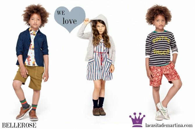 Bellerose, Moda Infantil, La casita de Martina, Blog de Moda Infantil, Colección Moda Infantil Verano