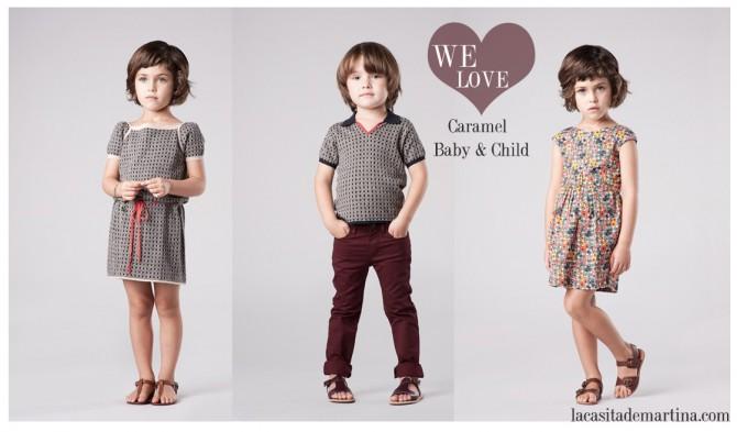 Caramel Baby & Child,  Moda Infantil, La casita de Martina, Blog de Moda Infantil, Colección Moda Infantil Verano