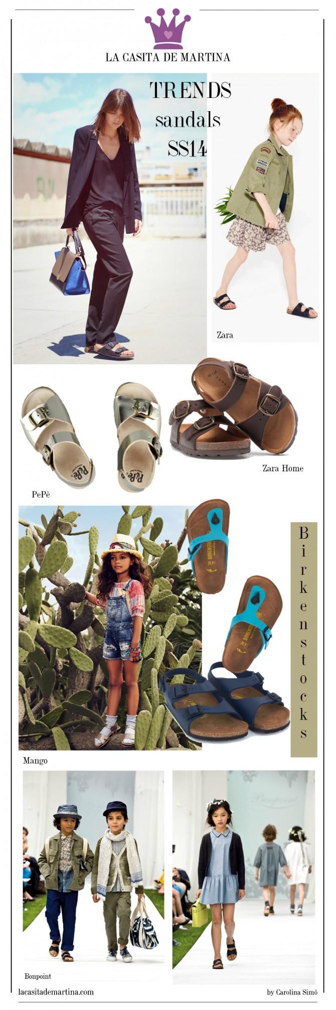 Mango, Birkenstock, Zara, Ugly shoes, PePè shoes,  Blog Moda Infantil, La casita de Martina