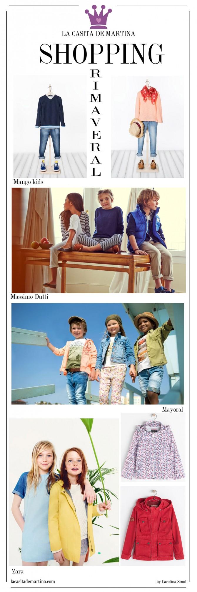 Mayoral, Zara, Massimo Dutti, Mango niños, Blog Moda Infantil, La casita de Martina, Blog Moda Bebé
