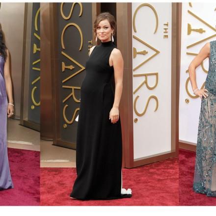 Kerry Washington, Olivia Wilde, Elsa Pataky, Oscar 2014, Blog Moda Infantil, Blog Moda Premamá