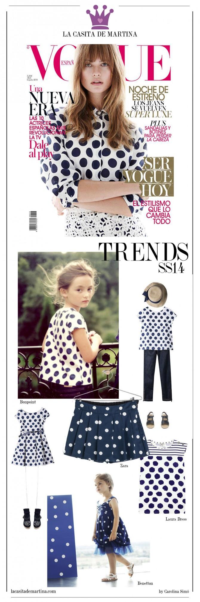 Vogue, Tendencias Moda Infantil verano 2014, Blog Moda Infantil,  La casita de Martina, Bonpoint