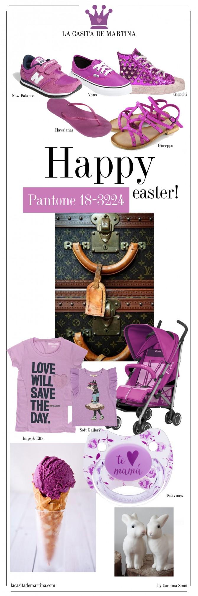 Color del año 2014, Orquídea Radiante color del año, Pantone 18-3224, Blog de Moda Infantil, Cibex, Gioseppo, Vans, New Balance