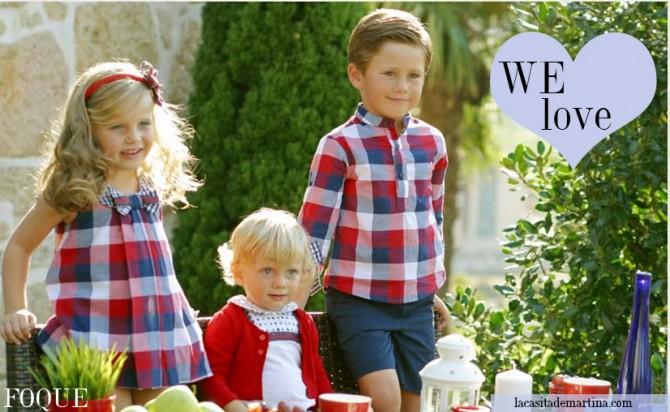 FOQUE, Moda Infantil, La casita de Martina, Blog de Moda Infantil,  Colección Moda Infantil Verano