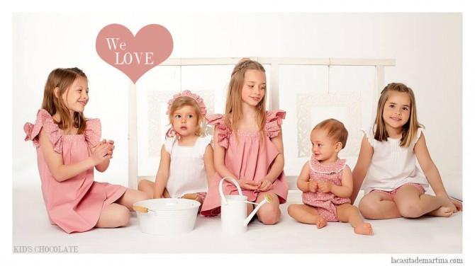 Kid's Chocolate, Moda Infantil, La casita de Martina, Blog de Moda Infantil,  Colección Moda Infantil Verano