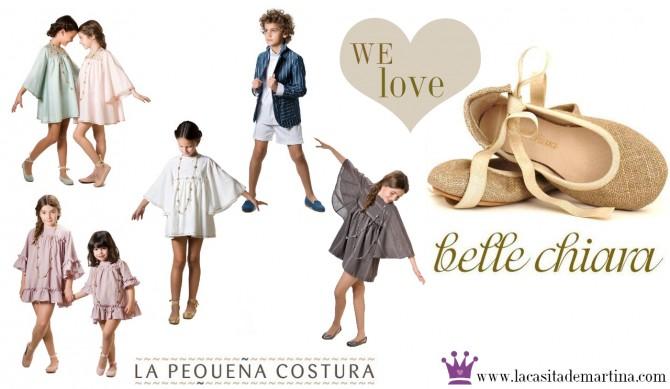 La pequeña Costura, Belle Chiara, Moda Infantil, La casita de Martina, Blog de Moda Infantil,  Colección Moda Infantil Verano